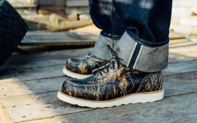RED WING HERITAGE 8884 MOC TOE BOOT